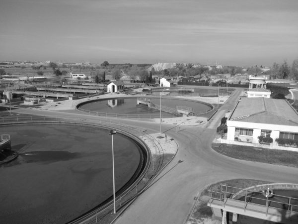 Wastewater treatment plant in Rejas