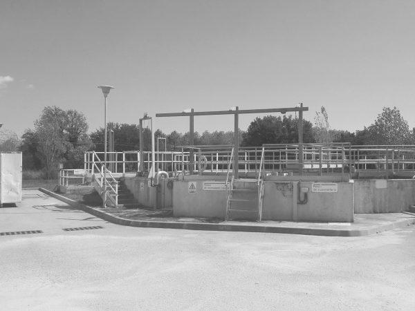 Estación de depuración de aguas residuales en Breda
