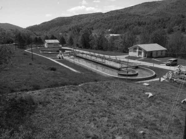 Wastewater treatment plant in Camprodon