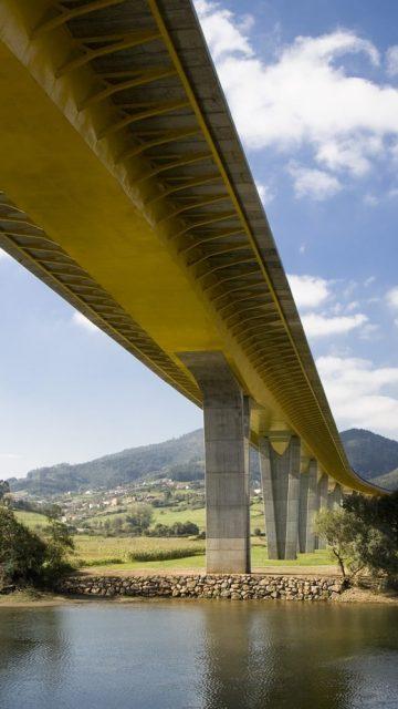 Protección de las aguas en autopistas