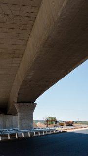 bridge in the la plata highway in spain