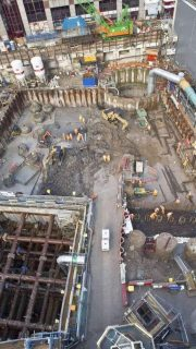 crossrail project in london, uk