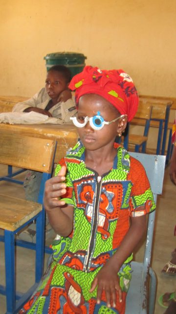Preventing child blindness in Mali