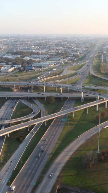 LBJ Highway in Dallas, Texas