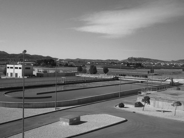 Wastewater treatment plant in Jumilla