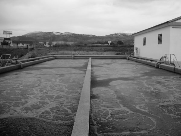 Wastewater treatment plant in Foia de Castalla