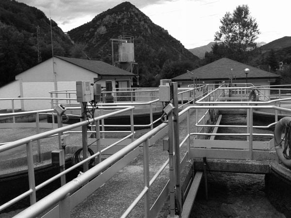 Wastewater treatment plant in El Pont de Suert