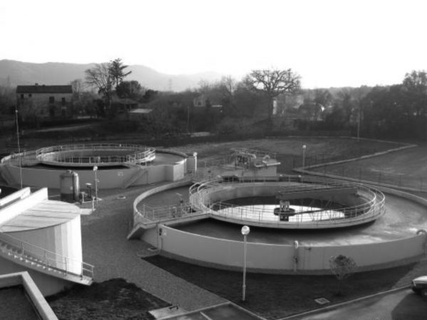 Wastewater treatment plant in Sant Antoni de Vilamajor