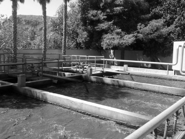 Wastewater treatment plant in Portmán