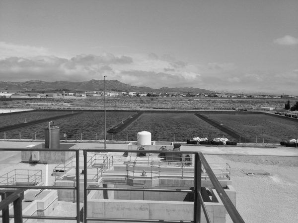 Wastewater treatment plant in Yecla