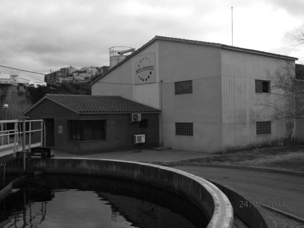 Wastewater treatment plant in Gelida