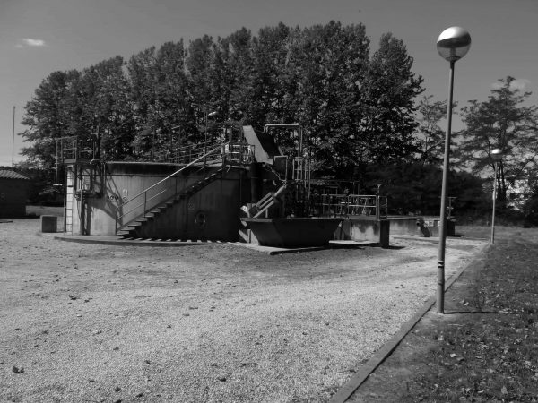 Wastewater treatment plant in Riudarenes