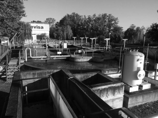 Wastewater treatment plant in Riudellots de la Selva