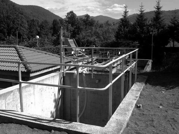 Wastewater treatment plant in Sant Pau de Segúries