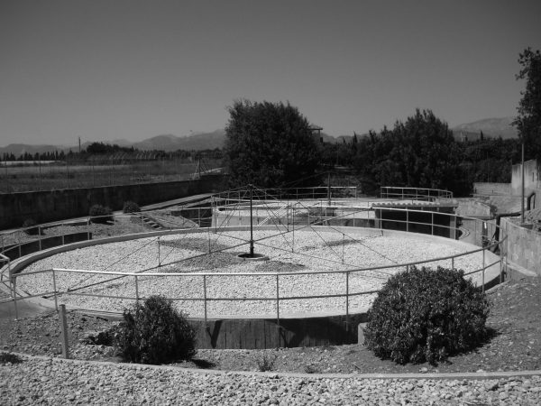 Wastewater treatment plant in Muro