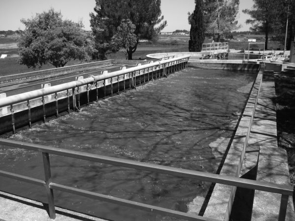Wastewater treatment plant in Santa Margalida