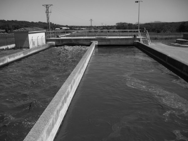 Wastewater treatment plant in Mancomunada