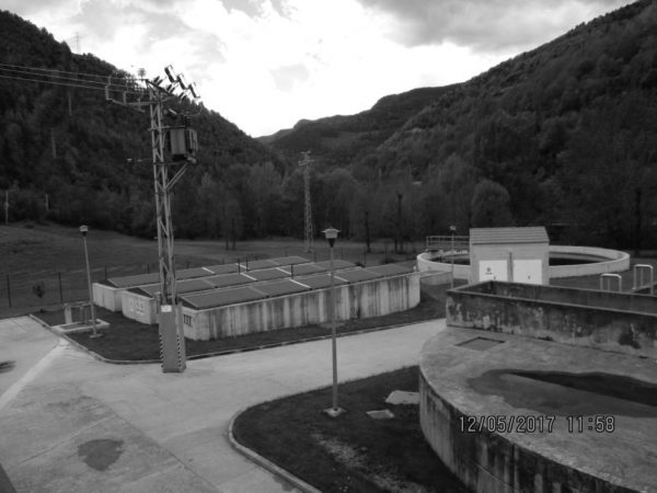 Wastewater treatment plant in Ribes de Freser