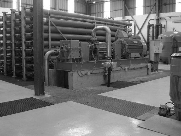 Instalación desaladora de agua de mar en  La Aldea
