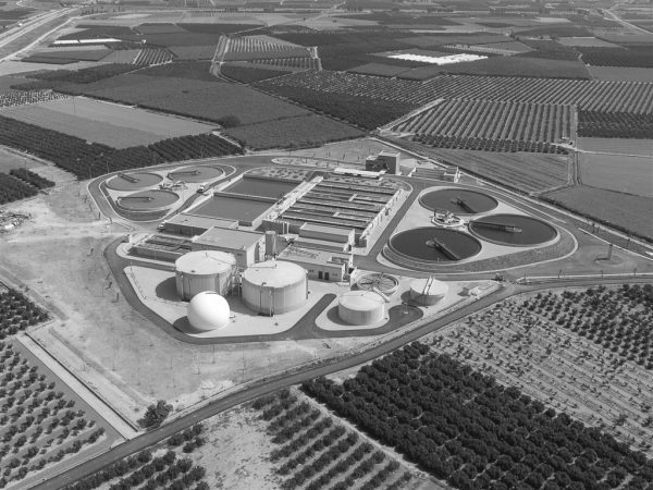 Wastewater treatment plant in Albufera Sur