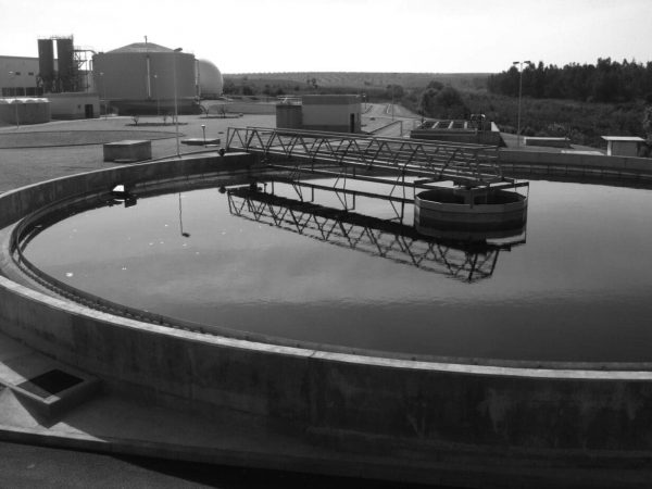 Wastewater treatment plant in Almendralejo
