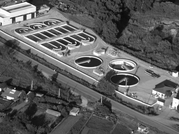 Wastewater treatment plant in Coria