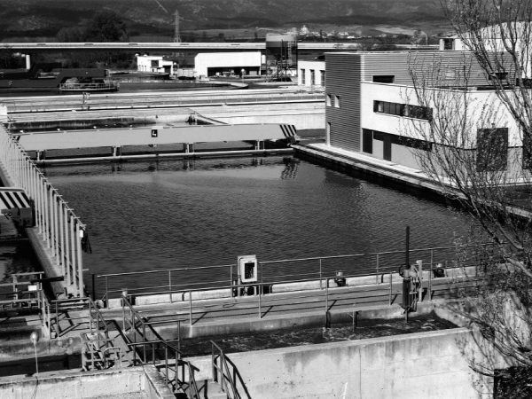 Wastewater treatment plant in Crispijana