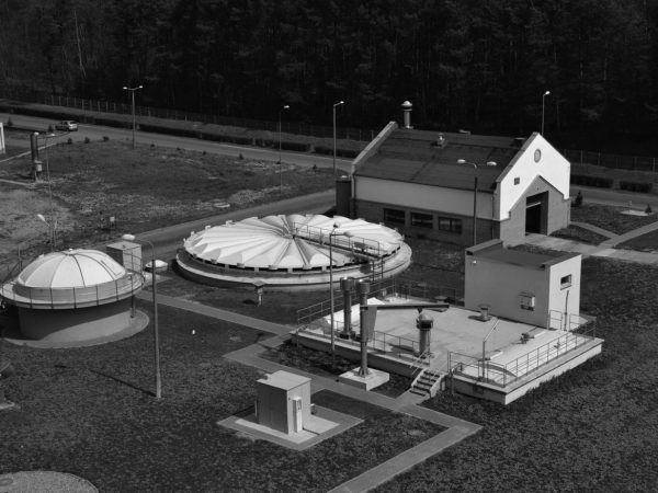 Wastewater treatment plant in Gorzow Wielkopolski