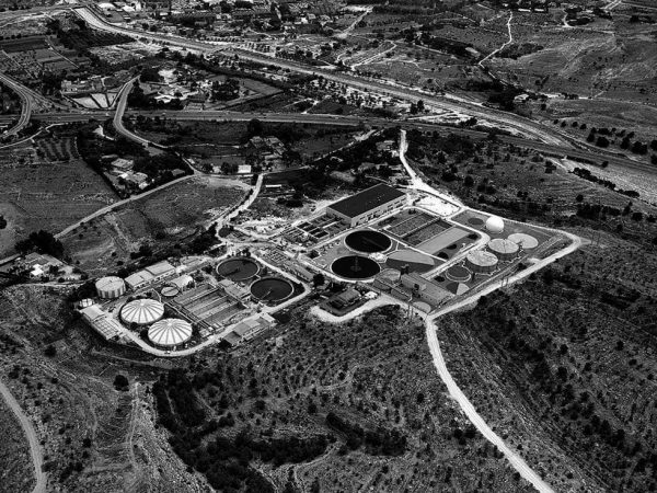 Wastewater treatment plant in Monte Orgegia
