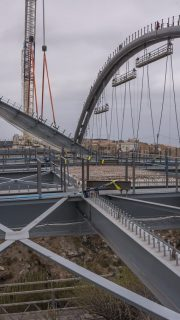 Erques Viaduct in Tenerife works by ferrovial agroman