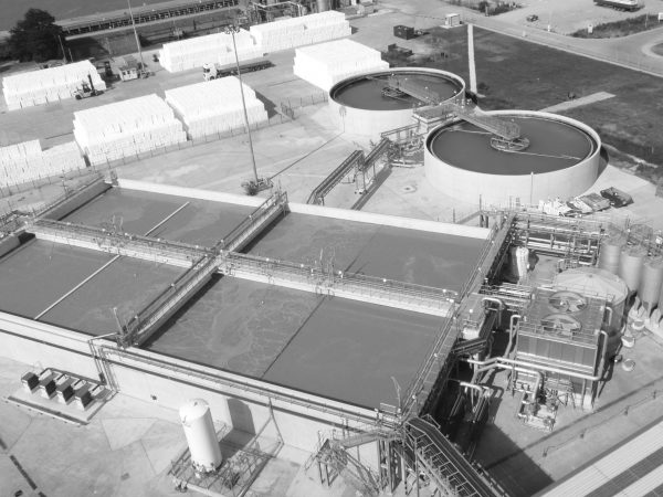 Industrial wastewater treatment plant at Kimberly Clark - Northfleet (Bluewater)