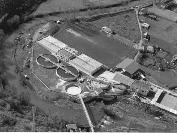 Industrial wastewater treatment plant at Kimberly-Clark (Aranguren, Vizcaya)