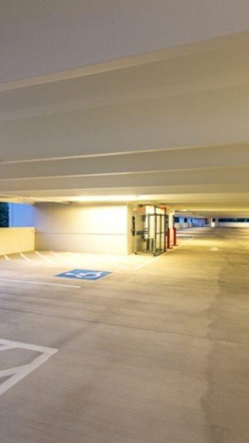 Lone Star College Parking Garage at Fairbanks Center Texas