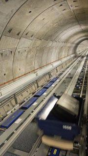 Heathrow Post T5 Transfer Baggage Tunnel
