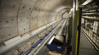 Heathrow Post T5 Transfer Baggage Tunnel
