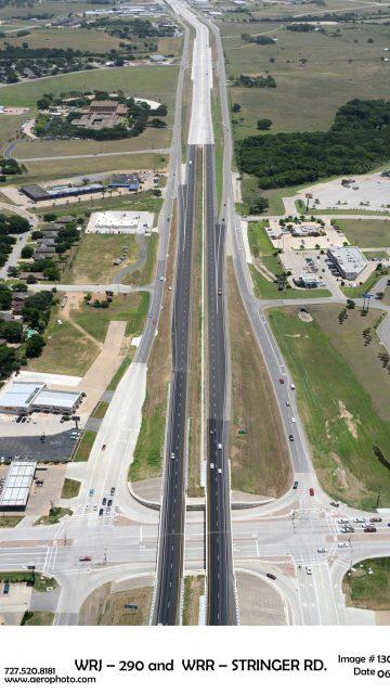 Reconstrucción de la autopista Brenham