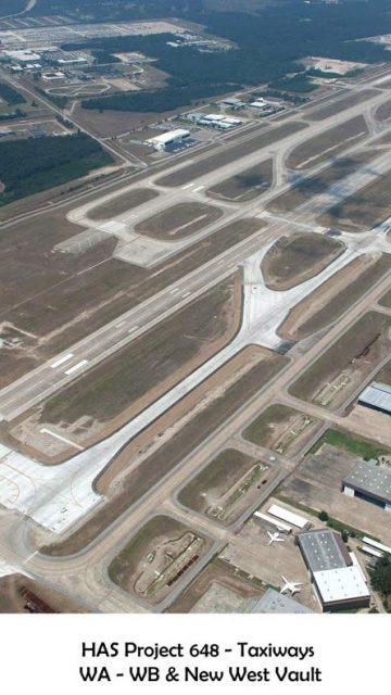 Vías de acceso del Aeropuerto Bush