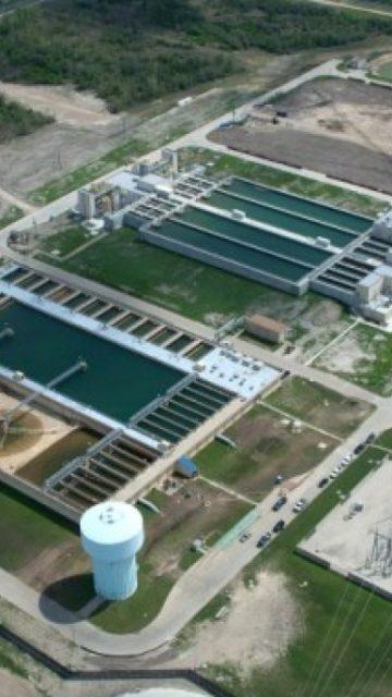City of Houston Water Plant, TX
