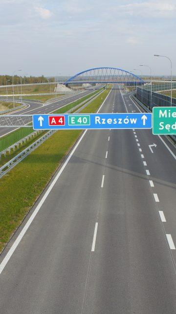 Autostrada A4 Dębica - Rzeszów