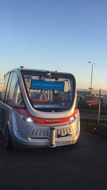 Movilidad autónoma en Heathrow