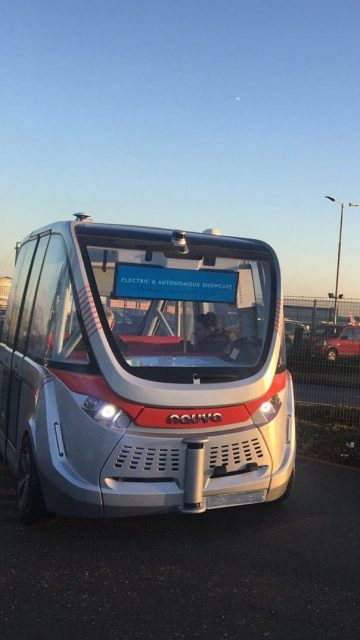 Autonomous mobility at Heathrow