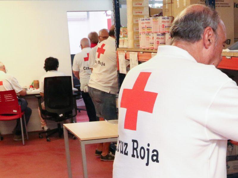 acción social en españa con cruz roja