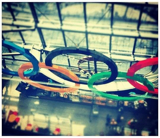 Anillos Olímpicos en la T-5