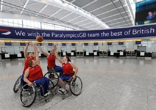 Jugadoras de baloncesto paralímpicas