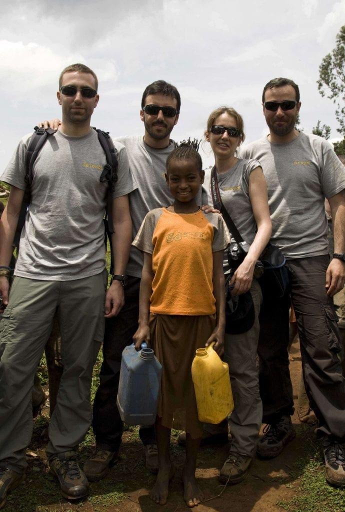 Mehane, Maria, Ibai, Jorge y Nacho- Infraestructuras Sociales-Etiopía