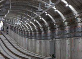 Contruccion tunel linea 9 Metro Madrid
