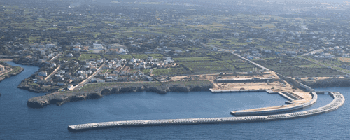 Construction of the new outer port in Ciutadella (Menorca) 1