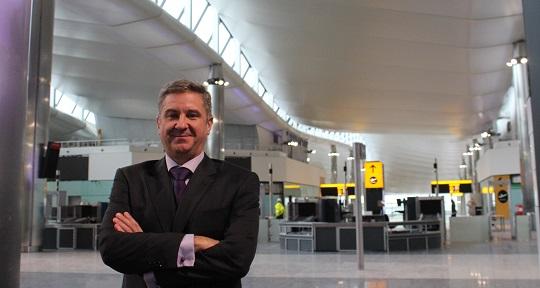 Construction Hetco Agroman Heathrow Terminal 2