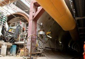 Crossrail Western tunnels