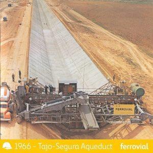 Ferrovial, viaducto tajo-segura 1966